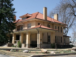 The White family home, built in 1912, is now a museum.