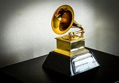 The Grammy Award is awarded to leading music artists.