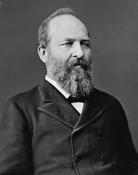 James A. Garfield: the second president to be assassinated whom Hay advised