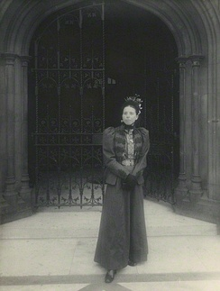 Catherine Courtney in 1898, by Sir John Benjamin Stone
