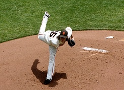 Tim Lincecum won consecutively in his first two full seasons, an MLB Record