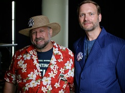 Michael Hart (left) and Gregory Newby (right) of Project Gutenberg, 2006