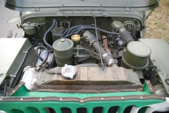 Engine of a Hotchkiss M201