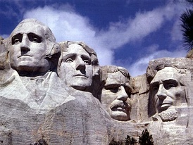 Mount Rushmore is located in the Black Hills of South Dakota.