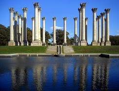 National Capitol Columns at the National Arboretum (2008 view)