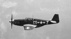 P-51B 43-12123 C5-Z Bat Cave, assigned to Capt. Charles D. Sumner, 364 FS, credited with 4.5 kills