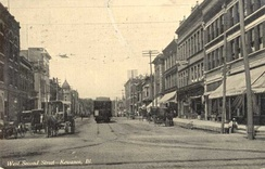 West Second Street, 1908