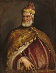 The Doge Andrea Gritti, reigned 1523–1538, portrait by Titian.