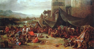 The sack of Rome in 1527, by Johannes Lingelbach, 17th century.