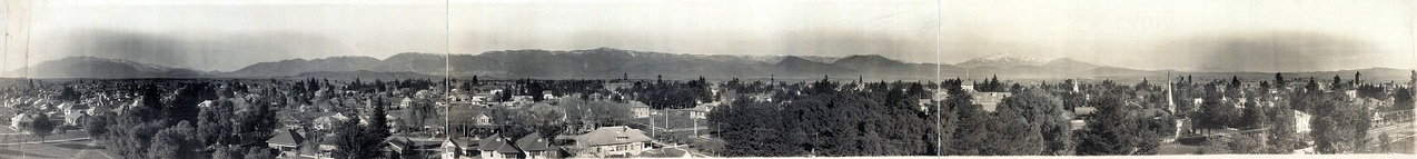 San Bernardino, California, city and village, 1909.