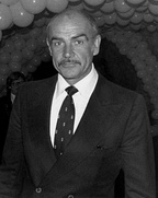 Sean Connery at the premiere of Seems Like Old Times in 1980.