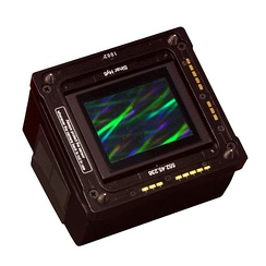 Sinar eVolution 75 digital camera back sensor, mountable on a select range of medium-format camera brands, 2007, 33 megapixels, price ca. Euro 15.000,00