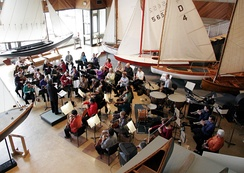 Symphony Nova Scotia performs at the Maritime Museum of the Atlantic in Halifax