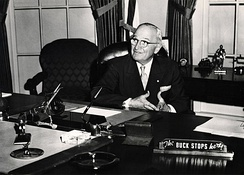 President Truman, possibly a Cornish Tremaine