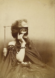 The Countess in a photo by Pierre-Louise Pierson (c. 1863/66)