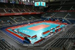 Earls Court hosted the volleyball matches during the 2012 Summer Olympics.