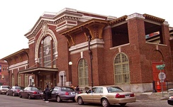 Yonkers Metro-North train station.