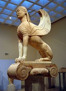 Ancient Greek sphinx from Delphi