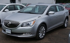The 2nd generation Buick LaCrosse has been cited as an example of a GM's revival following its restructuring in the aftermath of the Great Recession.[22][23]