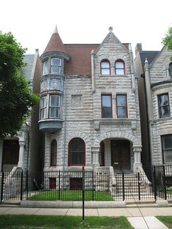 Ida Wells lived in the Ida Wells House, a Chicago Landmark in the Bronzeville historic district.
