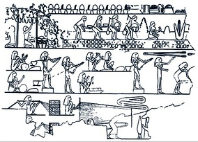 Ancient Egyptians were the first to document tools for ropemaking
