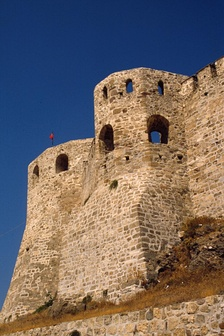 Part of the Venetian fortress on Tenedos, an island now Turkish