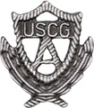 U.S. Coast Guard Auxiliary Past Officer Badge