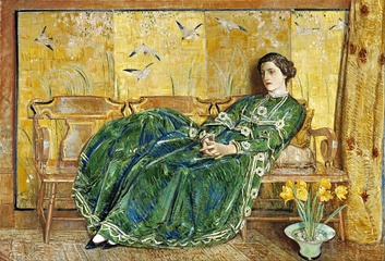 April - (The Green Gown)