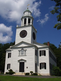 Church on the Hill, in Berkshire County