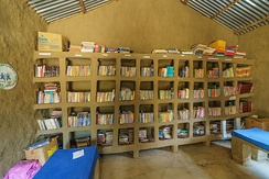 A community library in Ethiopia