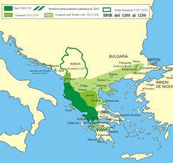 Despotate of Epirus, one of the Greek successor states of the Byzantine Empire