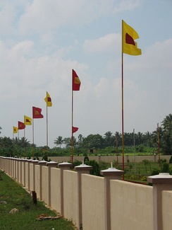Kopay memorial for fallen Tamil combatants