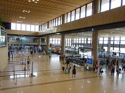 International Terminal at Gimpo Airport, Seoul, South Korea