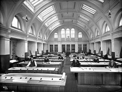 Harland & Wolff's Belfast drawing offices early in the 20th century