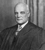Senator Harold H. Burton (in a later photo after appointment to the U.S. Supreme Court)