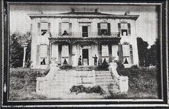 Photograph of the Hindman family home in Helena, Arkansas