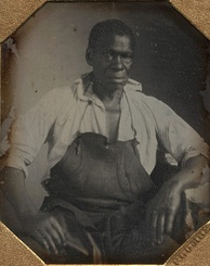 Isaac Jefferson, 1847, was an enslaved blacksmith at Monticello.