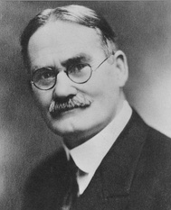 Dr. James Naismith, who invented basketball in Springfield, Massachusetts in 1891
