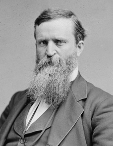 James B. Weaver, presidential nominee of the Greenback Labor Party, was later a prominent figure in the Populist movement.