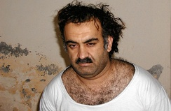 Khalid Sheikh Mohammed after his capture in 2003