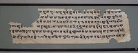 Starting in about the 1st century BCE, Sanskrit has been written in many South Asian, Southeast Asian and Central Asian scripts.