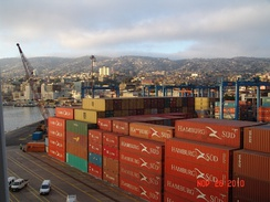 Container Shipping Port