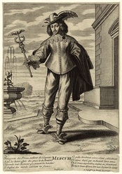 Maurice of the Palatinate (1620–1652), depicted as Mercury.  Prince Maurice then attempted to block Cooper's appointment as governor of Weymouth and Portland.