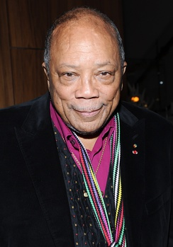 Founder of Vibe, Quincy Jones