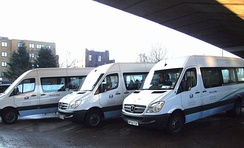 Social services transport provided by the Borough