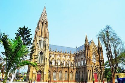 St. Philomena's Cathedral, Mysore, India