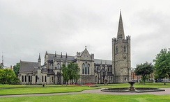 St Patrick's Cathedral, Dublin, is the national Cathedral of the Church of Ireland.