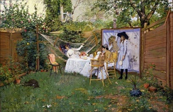 Open Air Breakfast, 1888