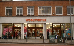 A Woolworths store in the UK