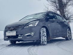 Hyundai Solaris, the first foreign car to top Russian sales chart